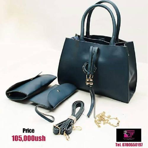 42bdb7850260d8 Buy LADIES BAG PRADA DARK BLUE Online in Ugandan - UGx 105000